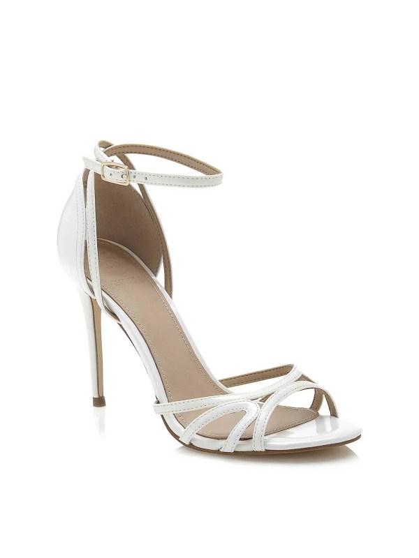 825.658 GUESS Damen Marken-Sandalette Weiß