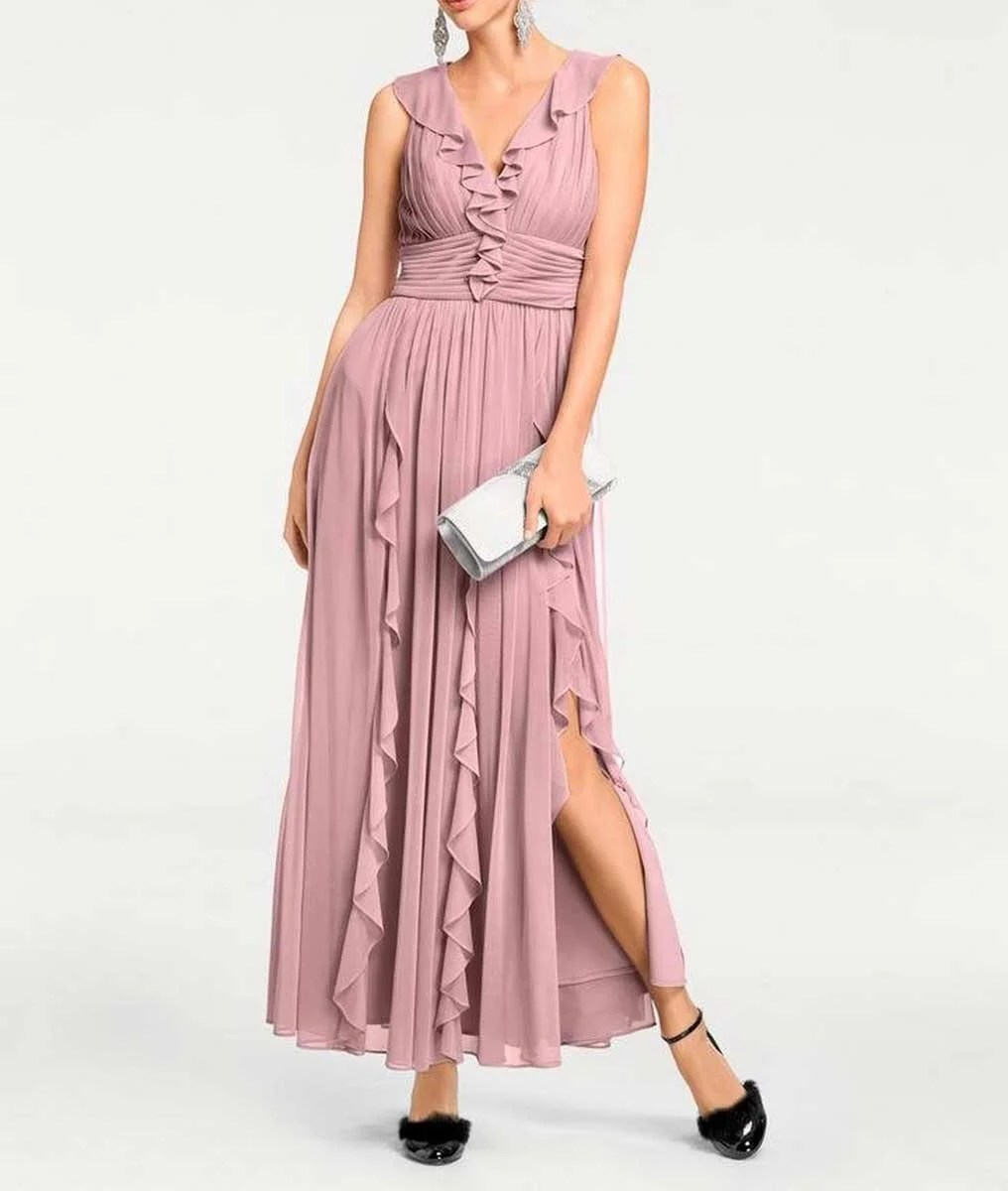 Festmoden Ashley Brooke Abendkleid rosè 099.300 Missforty