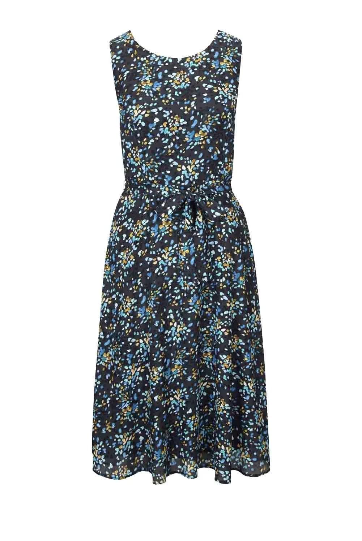 wadenlange kleider für besondere anlässe Kleid, gemustert von Heine 799.277 missforty