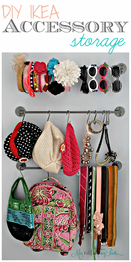 DIY Ikea Accessory Storage