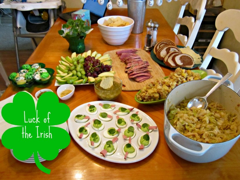St. Patrick's Day Food Ideas | missfrugalfancypants.com