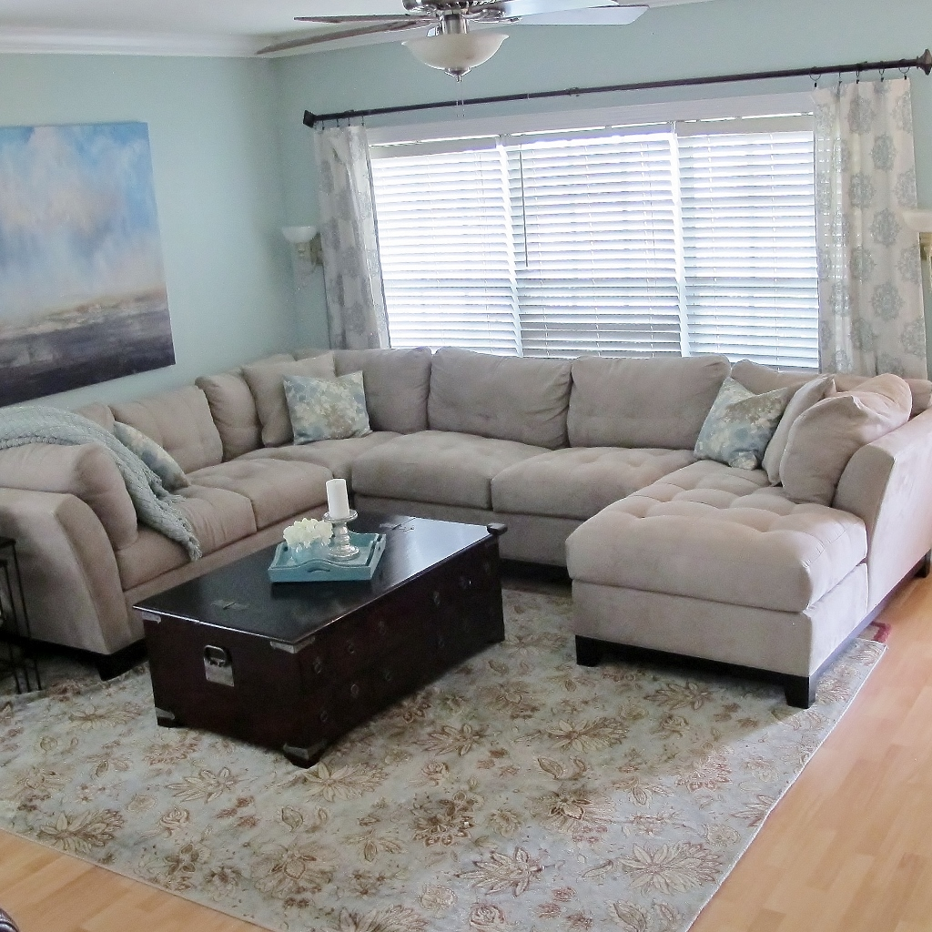 Living Room Makeover on a Budget - Miss Frugal Fancy Pants