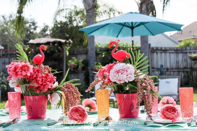 Lilly Pulitzer | Cabana Party | Flamingo Birthday Party | missfrugalfancypants.com