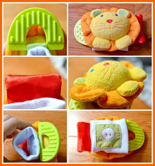 Lion Wristy Buddy Review (Getting Ready For Baby Gift Guide)