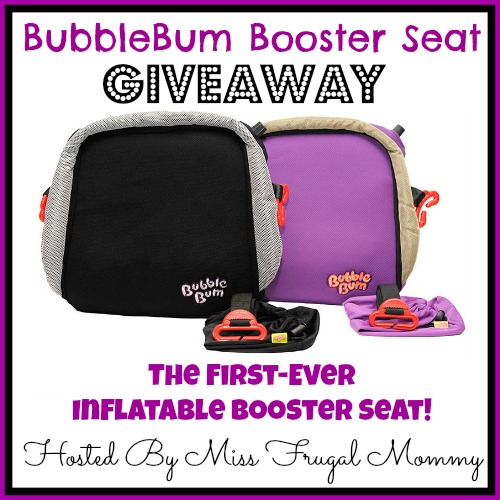 BubbleBum Booster Seat Giveaway
