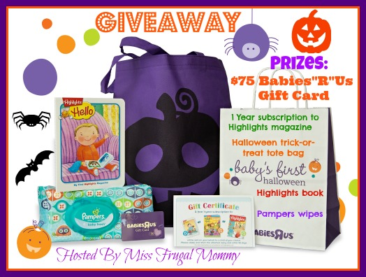 Baby's First Halloween Giveaway