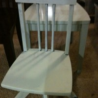 DIY Project, chairs painted simple cheap but beautiful