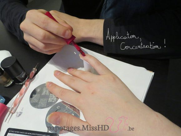 Application, concentration !