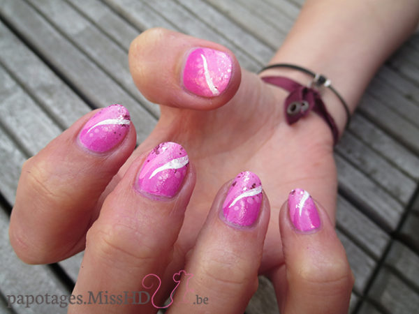 Nail art Barbie