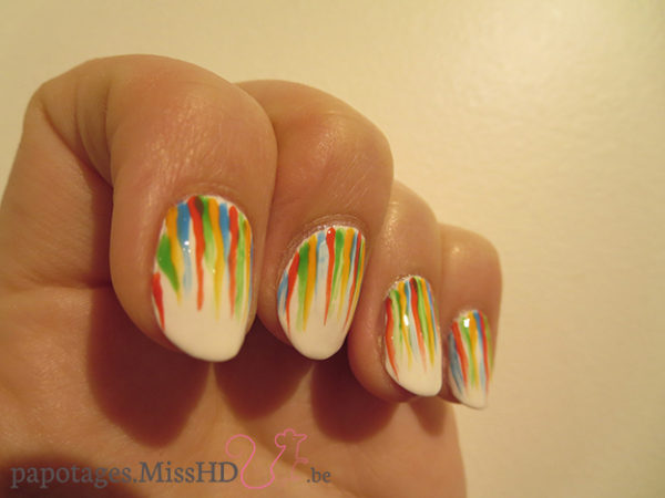 Nailstorming #49 Holi Nails