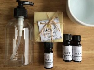 Zutaten selbstgemachtes Shampoo