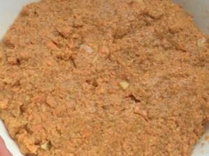 Teig für Karottenmuffins
