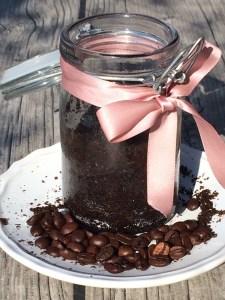 Kaffeepeeling Kokosöl vegan bio