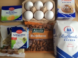 Zutaten schwedische Torte glutenfrei