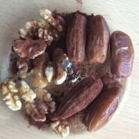 Leckere Süßigkeiten gesund