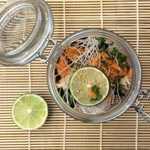 vegetarische Misosuppe im Glas selber machen vegetarisch