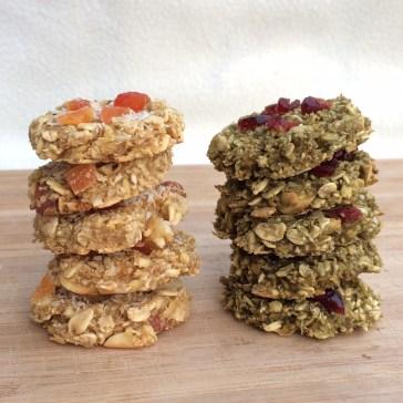 Vegane Cookies ohne Zucker
