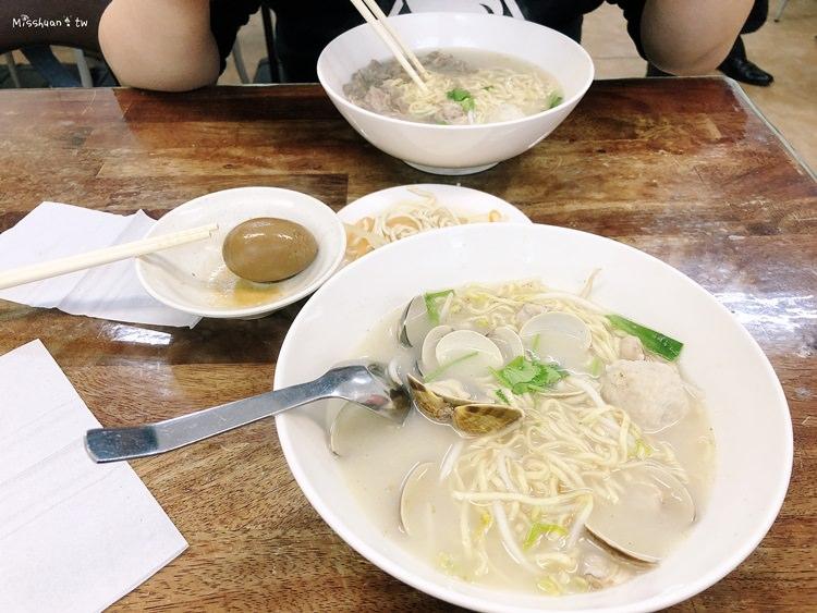 台中西區美食 文珍彰化蛤仔麵 傳統古早好味道 大業路小吃 清爽可口的湯麵料理