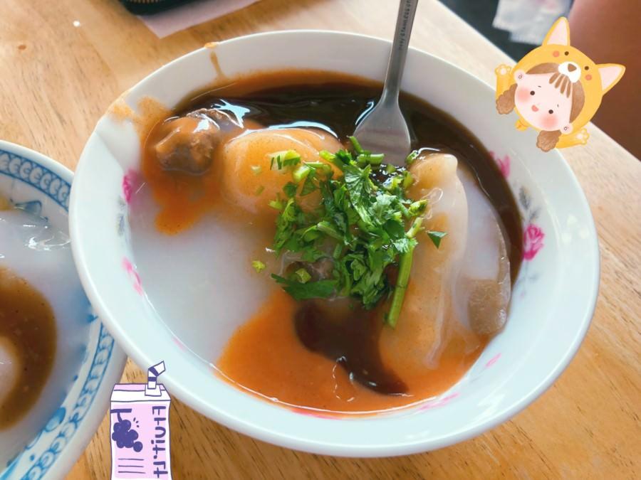 台中潭子美食 肉丸城 銅板美食 在地小吃 早餐 早上7點至售完為止