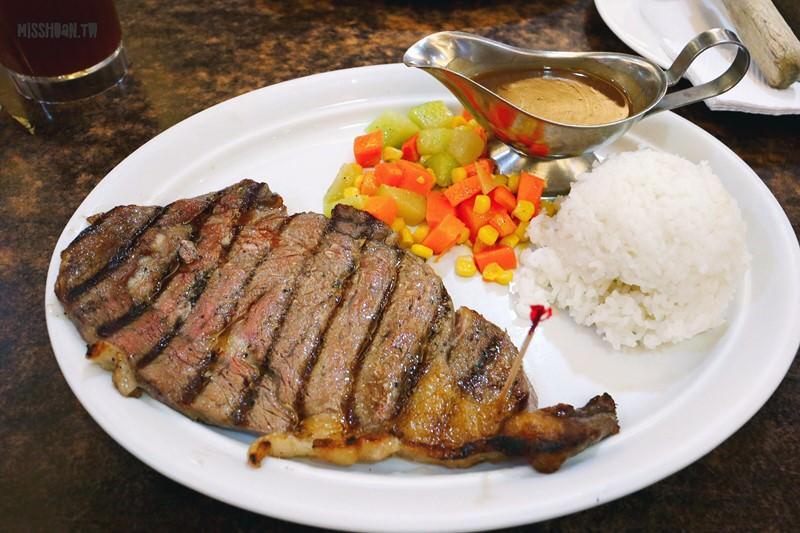 菲律賓美食 Meat Plus Cafe 在地人也超捧場的美式牛排館!部位任挑 家庭親子美式餐廳 聚餐聚會 漢堡也有賣
