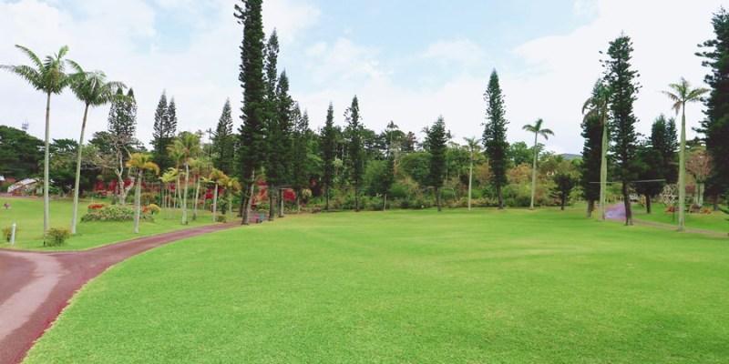 沖繩景點推薦【東南植物樂園】用五感體驗的植物園!零距離餵動物!釣魚.觀光導覽巴士