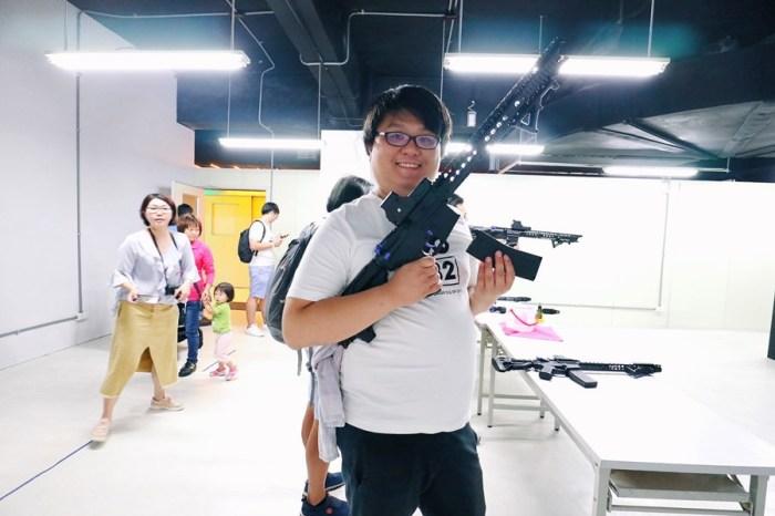 台中潭子景點【喜晶A光學觀光工廠】VR與恐龍零距離體驗!靜電球人人都是爆炸頭!親子同遊知識之旅!