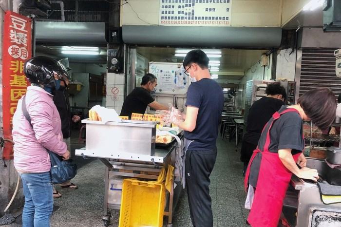 台中南區美食【靜宜早點】中興大學傳統早餐店!每次來都好多人的排隊銅板美食!