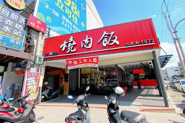 台中東區美食【高雄周燒肉飯/十甲店】三民街1972老店!好好吃的燒肉百吃不膩啊!