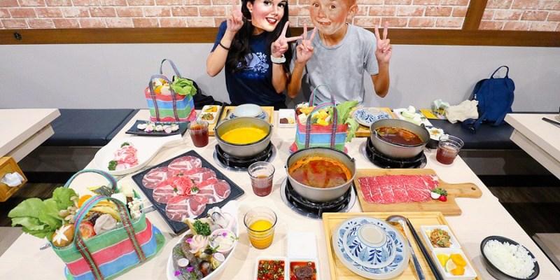 台中東區美食【麥湯棧】創意中西合併!西式火鍋在這裡!鍋物/牛肉麵一次雙享受!