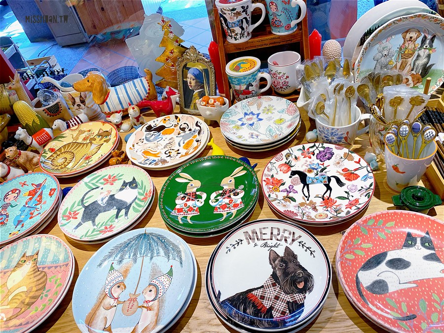 台北大同美食【寅艸良舍】超美器皿碗盤專賣!還有剉冰可以吃喔!