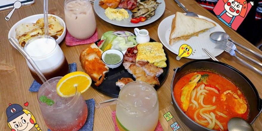 台中西屯美食【Nininono早午餐】美好早餐時光!慵懶享受美味鐵板料理!