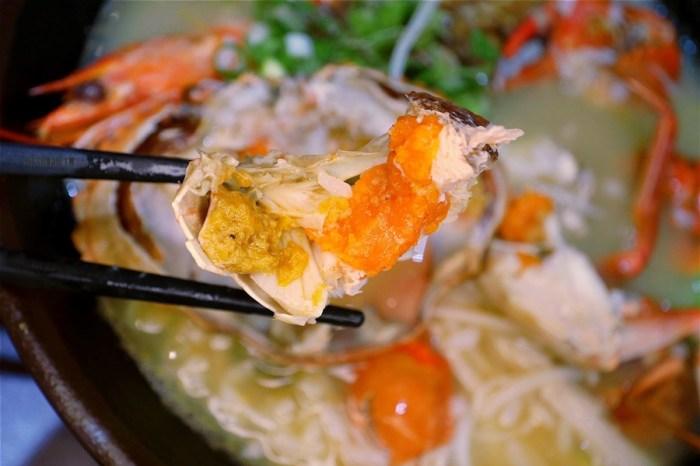 台中北區美食【58號粥舖】飯店主廚在一中街商圈開的澎湃活跳跳海鮮粥就是這間了!