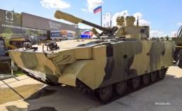 """Модернизированная БМП-3М «Драгун» с дистанционно-управляемым боевым модулем """"БМ100+30"""""""