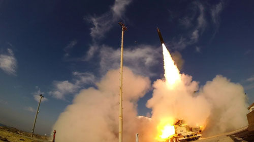 Israel Postpones US-based Test of Arrow-3