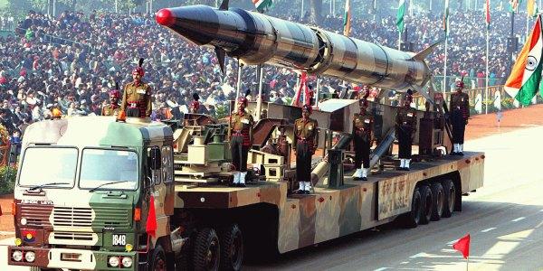 India Test Fires Agni-2 Ballistic Missile