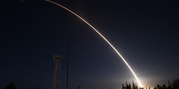 US Air Force Test Fires Minuteman-3 ICBM
