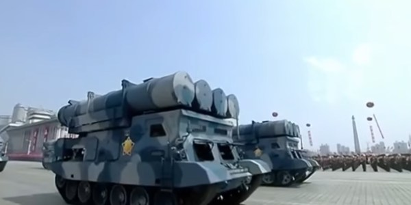 "North Korea Test Fires ""Tactical Guided Weapon"""