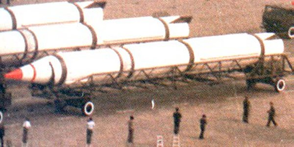 China Conducts DF-4 ICBM Test