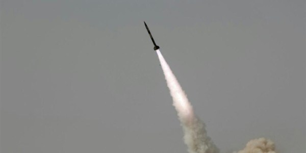 Iran Test Fires Missiles in War Game