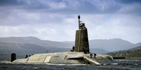 May Pledges £600 Million Boost for Nuclear Submarines