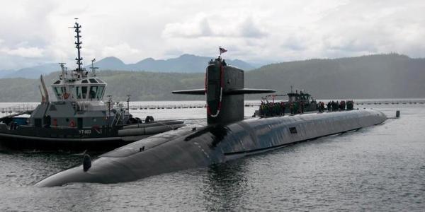 US Navy Tests Trident II SLBM