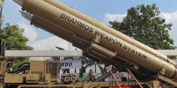 India Test Fires Brahmos Missile