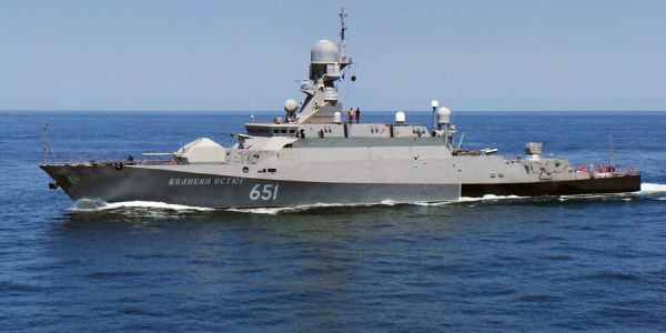 Russia Begins Construction of Kalibr-Equipped Corvette