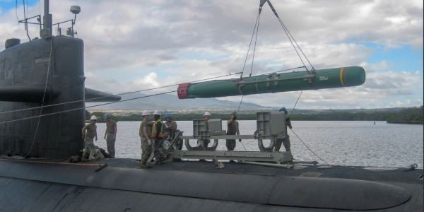US Navy Prepared Sub-Launched Harpoon for RIMPAC Exercise