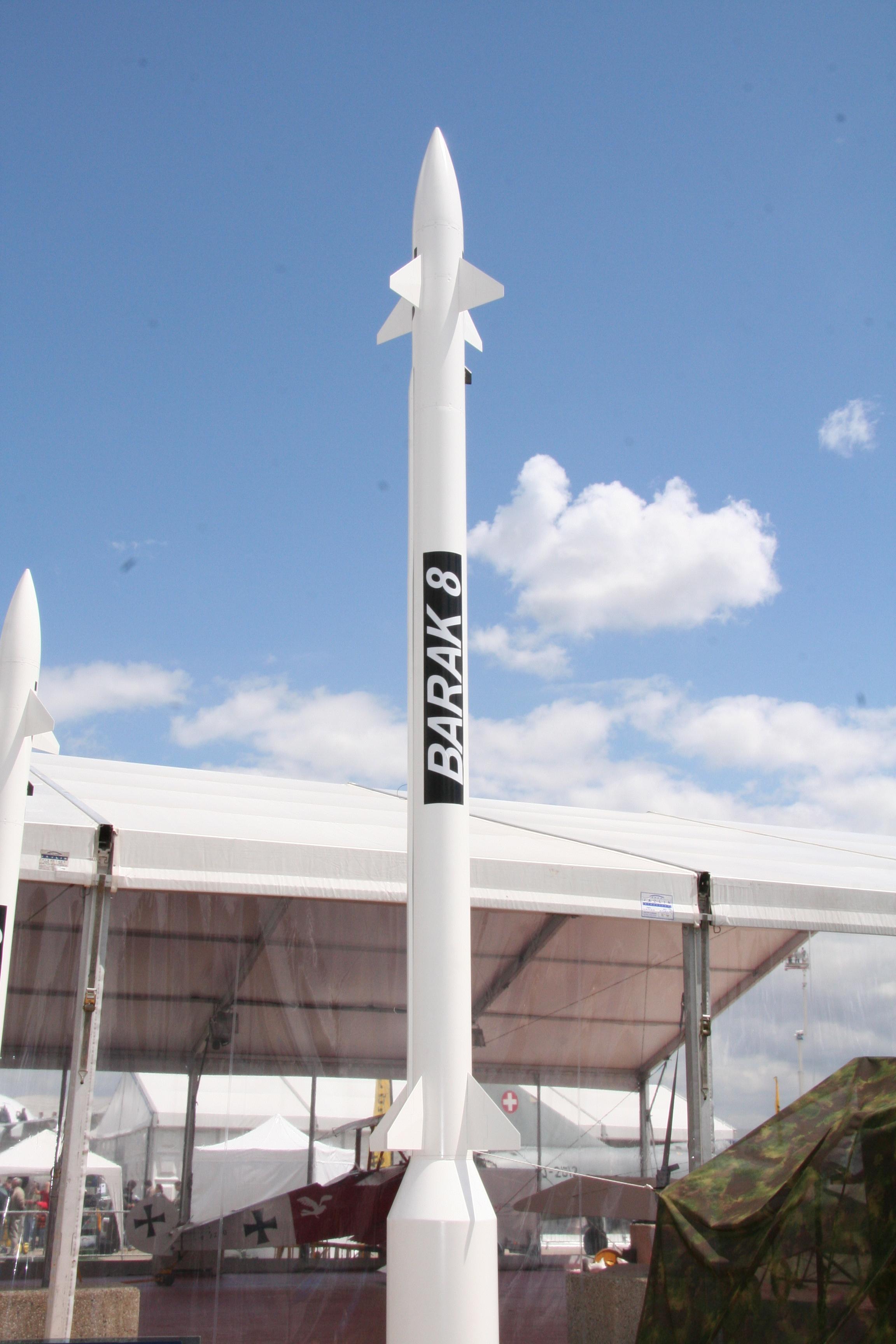 Israeli Corvettes to Receive Barak-8 Missile Defense System