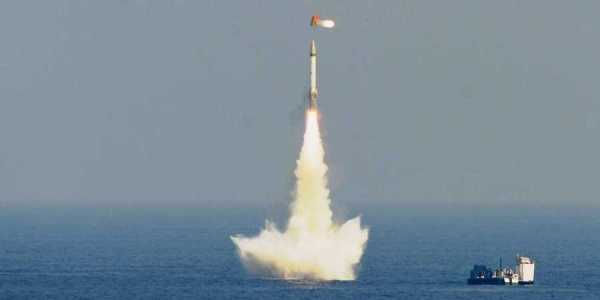 India Fires 3 Sub-launched Ballistic Missiles