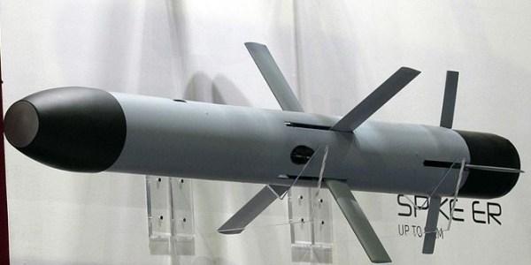 Philippine Navy Test Fires Spike ER Missile at Sea