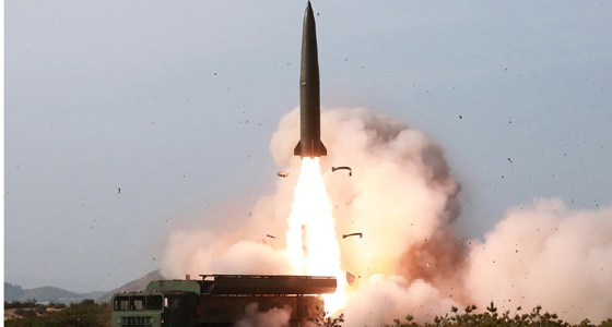 North Korea Test Fires Two Short-Range Ballistic Missiles