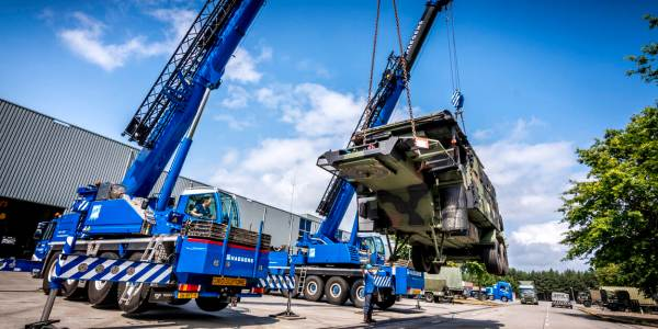 Refurbished Patriot Shipped to Netherlands