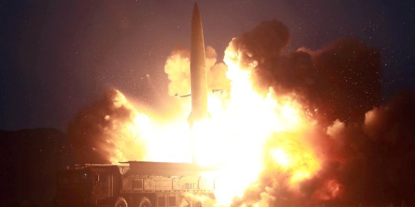 North Korea Test Fires Two KN-23 Missiles